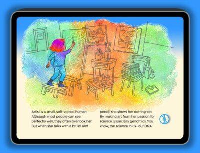 """""""We Want Our Genome Story"""" digital book by Lynn Fellman"""