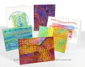 """Admixture"" cards are DNA-themed greeting and notecards"